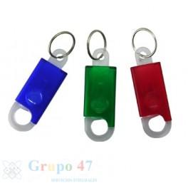 Llavero plástico con mosquetón GA - N144